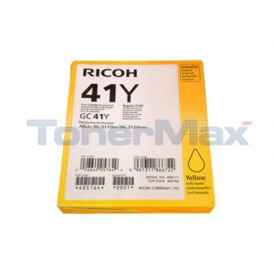 RICOH SG3110DN PRINT CARTRIDGE YELLOW